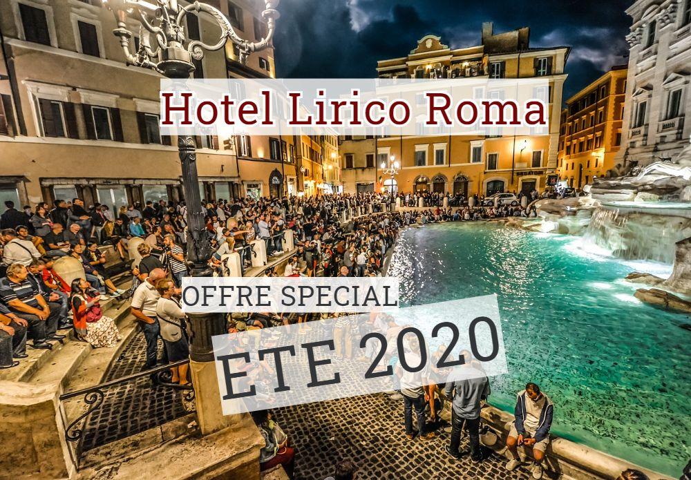 Ete a Rome 2020  Hotel Lirico