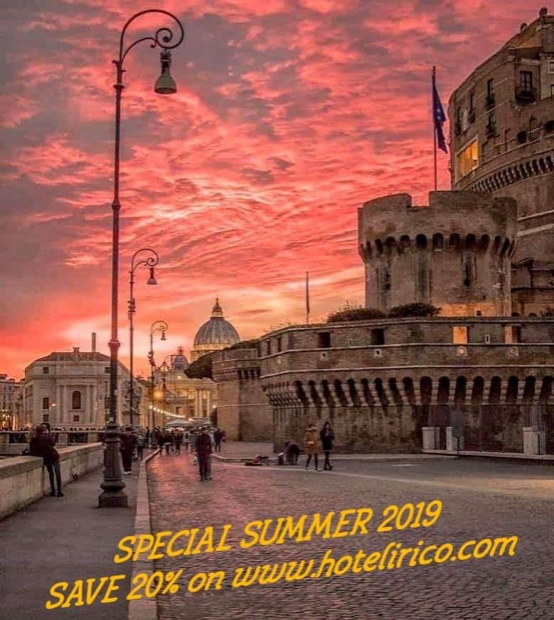 special summer 2019 rome hotel lirico