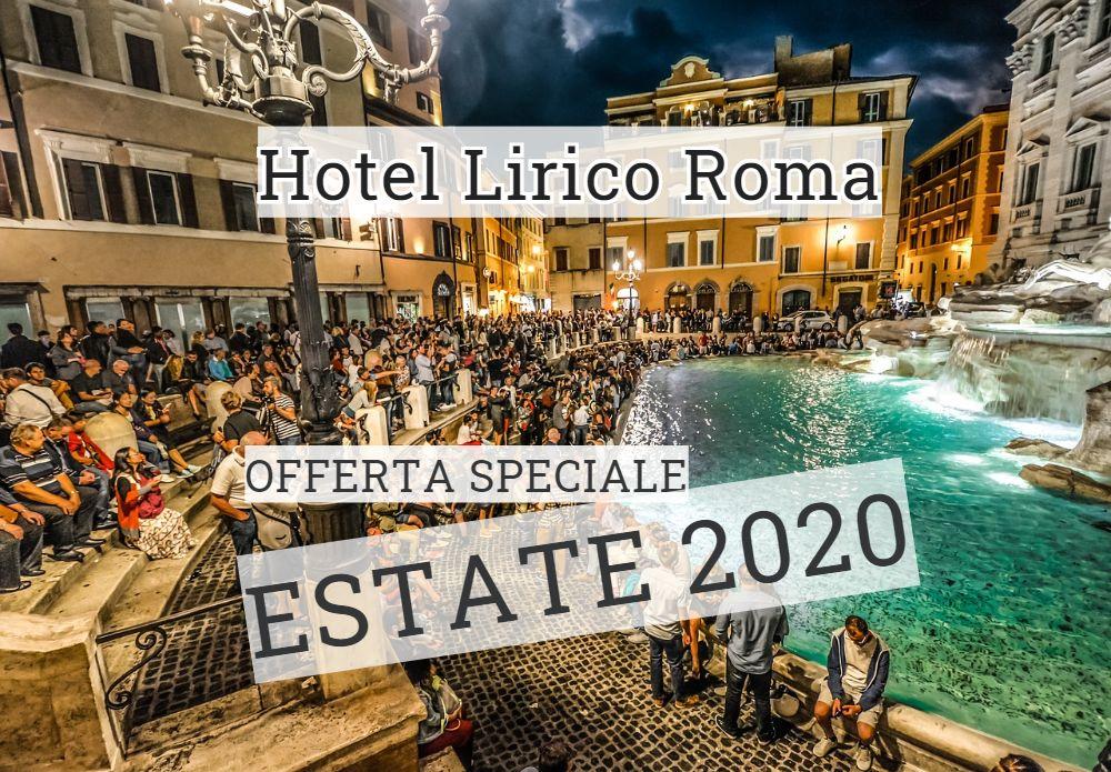 estate 2020 roma  Hotel Lirico
