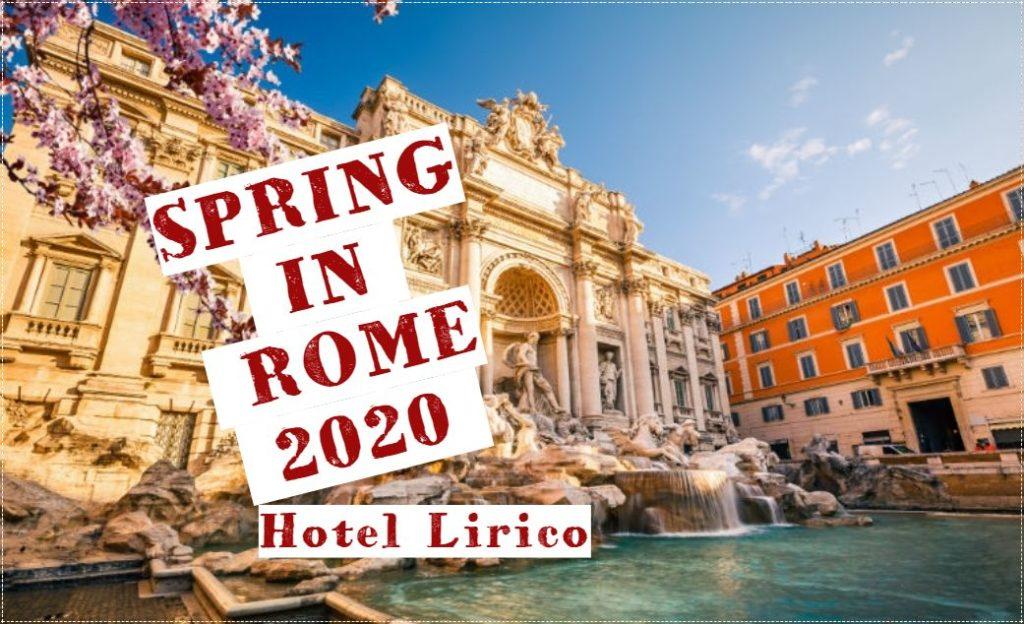 hotel lirico rome spring 2020