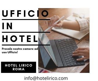 camere ad uso ufficio in hotel roma